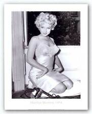 PHOTO ART PRINT Marilyn Monroe 1954