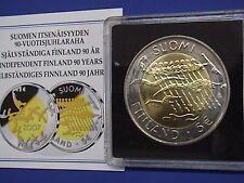 5 EURO COMMEMORATIVO FINLANDIA 2007 90° INDIPENDENZA