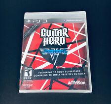 Guitar Hero: Van Halen (PlayStation 3, 2009). PS3. New Sealed. F24