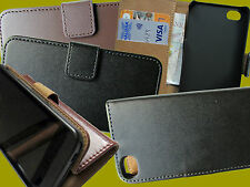 Iphone 4  Leather Wallet / Stand  Case