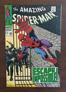 THE AMAZING SPIDER-MAN #65 1968