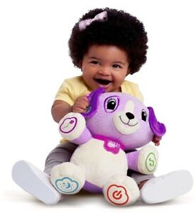 LeapFrog My Pal Violet Interactive Puppy w/Instruction Guide & Batteries