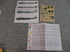 Esci  decals 1/72 Dornier DO-17   variants     H24