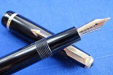 Parker Duofold Slimfold in Gloss Jet  Black