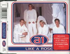 004 A1 Like A Rose b/w A1 Medley UK 3 TRACK CD SINGLE (CD 2)