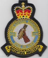 5131 Bomb Disposal Squadron RAF Royal Air Force Crest Badge Patch MOD Approved
