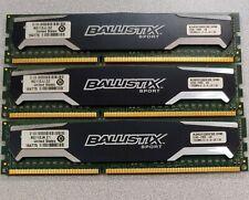 Crucial Ballistix Sport 12GB (3x4GB) DDR3 1333MHz PC3-10600 BLS4G3D1339DS1S00