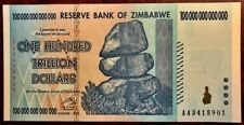 ZIMBABWE - 100 Trillion Dollars - 2009 - Crisp Uncirculated  Descriptive Booklet