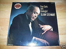 "RARE Slam Stewart DMM 12"" LP SEALED Cats are Swingin MINT SS FREE US SHIPPING"