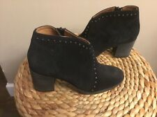 Women's Frye Nora Studded Black Boots in Size 7 B (CON39)