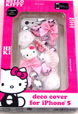 Hello Kitty Decorative Cover for iPhone 5 16gb 32gb 64gb KT4496WG Free Shipping