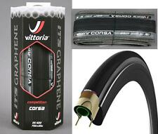 Vittoria Open Corsa Graphene Plus G+ Road Clincher 700x23 Tyre ALL BLACK