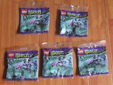 5 Packs LEGO 30270 Teenage Mutant Ninja Turtles Kraang Laser Turret Brand New!!!