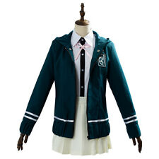 Danganronpa Chiaki Nanami COSplay Costume Jacket School Uniform Girl Dress