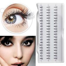 Fashion 12MM Individual Curl Cluster False Eyelash Extension Knot Free Beauty