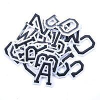 5pcs /1 set Alphabet A-Z Lettre Brodé Fer Sur Patch Coudre Applique Accessoire