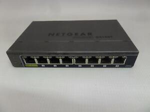 NETGEAR ProSafe 8-Port Gigabit Smart Switch GS108Tv2}