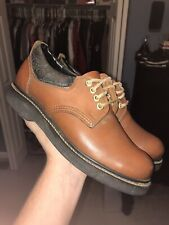 Men's Ramrods Steel-Toe Leather Work Shoes Size 8