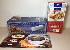Churros Press + Churros Mix 500g + Valor Chocolate Taza 300g Christmas Gift