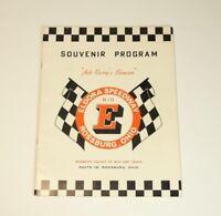 Souvenir Program Eldora Speedway 1967 Dirt Racing United Sates Auto Club