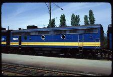 Original Rail Slide - VIA Rail Canada 1961 Vancouver BC 7-12-1982