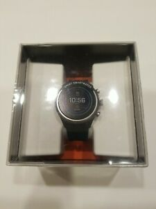 Fossil Sport Smartwatch, 43mm Black Silicone - NEW