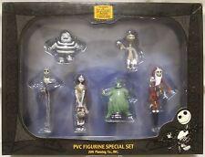 Nightmare before christmas: Jack, Sally, Oogie 6 PVC Figure special set B  N-379