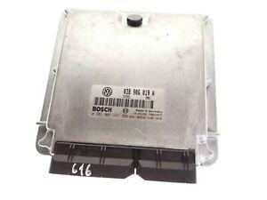 Original Audi / VW ECU Engine Control Unit 038906019A, 0281001691 (id: 616)