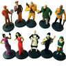 10pcs 2002 Clue GAME Suspects Pawns Tokens Movers Characters Figures Parts