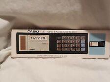 Casio  SolarTaschenrechner SL 80 OVP Mint Vintage 70/80 er