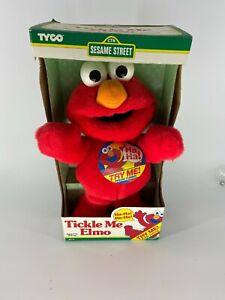 Tickle Me Elmo Vintage 90s 00s New in box