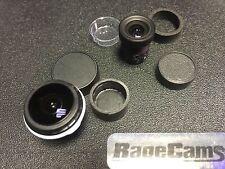 4mm Flat Lens Rectilinear Macro+Infinity Focus For Sony FDR-X1000v X1000 Camera