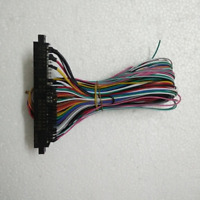 NEW Arcade Jamma games Harness 28 pin with 6 buttons wires 6 action button wires