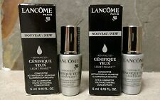 NEW 2 x LANCOME Advanced Genifique Yeux Light Pearl Eye Concentrate Serum 10ml