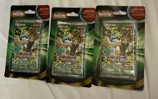 Yugioh! Sealed SPELL RULER Blister Booster Pack BONUS Cards Box LOT(3) 100% NEW