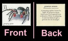 US 3351t Insects & Spiders Jumping Spider 33c single MNH 1999