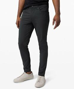 Lululemon Men's ABC Slim Pant *Warpstreme in Black Size 31 EUC