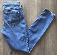 Old Navy Womens Blue Original Stretch Mid Rise Skinny Denim Jeans Size 2