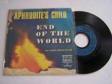 SP 2 TITRES VINYL 45 TOURS , APHRODITE ' S CHILD , EN OF THE WORLD .
