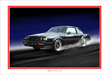 1987 Buick GNX Muscle Car Art Print