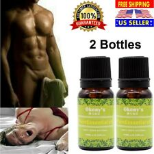 2x Penis-Enlargement Essential Oil Increase Growth Extension Delay Cream For Man