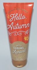 BATH & BODY WORKS SALTED CARAMEL APRICOT CREAM HAND LOTION 8OZ LARGE PURE HONEY