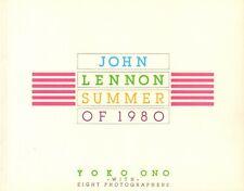 JOHN LENNON SUMMER OF 1980 - Yoko Ono with Eight Photographers