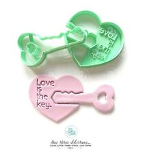San Valentino Chiave Cuore Love Is The Key Formine Per Biscotti Cookie Cutter