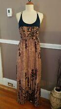 Amazing Multicolor Sleeveless Maxi Dress By Bar III!! Size Medium!!
