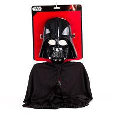 Kinderkostümset Darth Vader Star Wars, Maske + Umhang, Kostüm,Fasching
