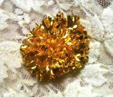 REAL Parsley Leaf Pendant or Charm Dipped N 24k Gold Bright Nature's Art!