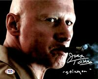James Tolkan autographed 8x10 photo Top Gun PSA COA Stinger Back to the Future