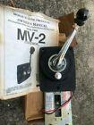 Morse Mv-2 Throttle Remote Control Brand New With Manual