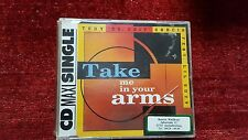 TONY DR. EDIT GARCIA FEAT. LIL SUZY - TAKE ME IN YOUR ARMS. CD SINGLE 4 TRACKS